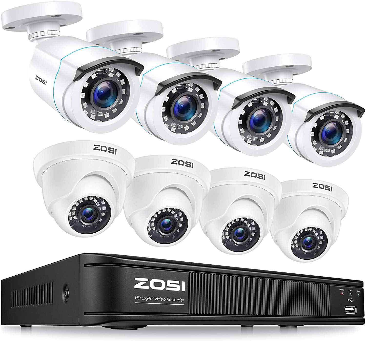 3.ZOSI-H.265+-1080p-Home-Security-Camera-System-Indoor-Outdoor