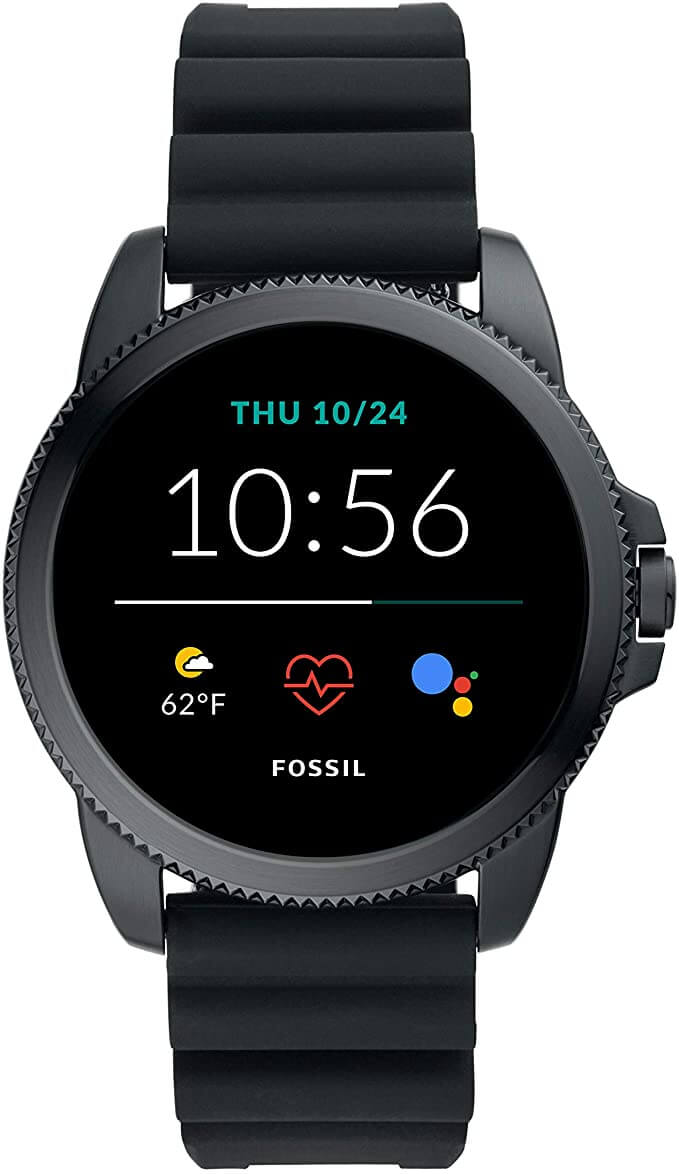 5. Stainless Steels touch screen Smartwatch – Fossil Men's